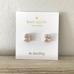 KATE SPADE Cubic Zirconia Stud Earrings